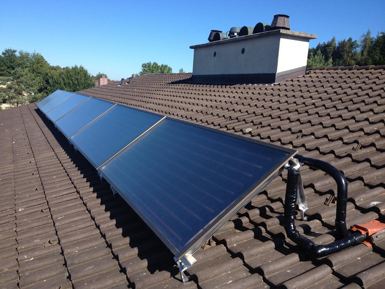 Solar Heizung Warmwasseraufbereitung Pfaffikon Zurich